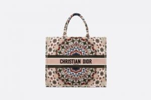 Dior Multicolor KaléiDiorscopic Book Tote Bag
