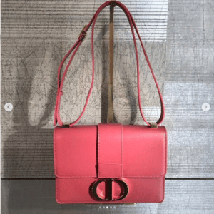 Dior Pink 30 Montaigne Flap Bag 1