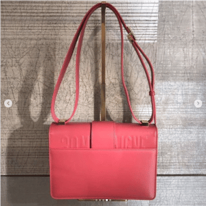 Dior Pink 30 Montaigne Flap Bag 2
