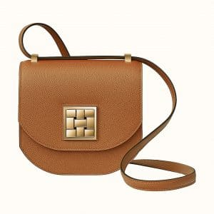 Hermes Gold Mosaique Au 24 - 17 Bag (GHW)