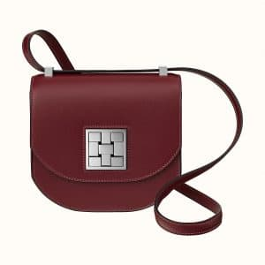 Hermes Rouge H Mosaique Au 24 - 17 Bag