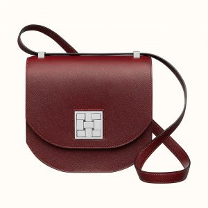 Hermes Rouge H Mosaique Au 24 - 21 Bag