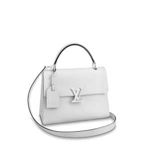 Louis Vuitton Blanc Epi Grenelle MM Bag