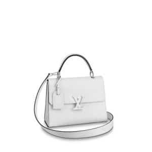 Louis Vuitton Blanc Epi Grenelle PM Bag