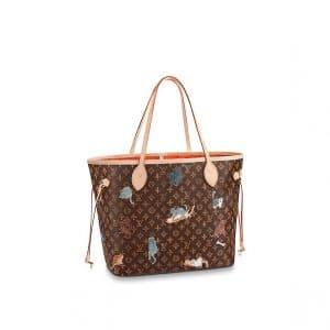 Louis Vuitton Catogram Neverfull MM Bag