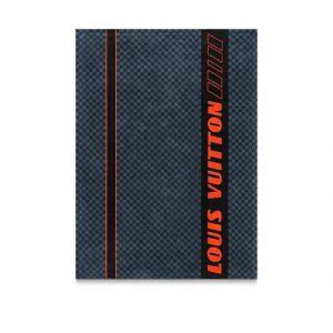 Louis Vuitton Damier Cobalt Race Beach Towel