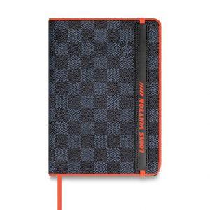 Louis Vuitton Damier Cobalt Race Gustave Notebook