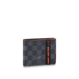 Louis Vuitton Damier Cobalt Race Multiple Wallet