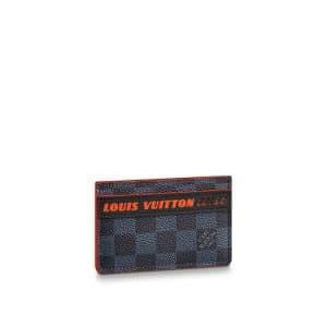 Louis Vuitton Damier Cobalt Race Porte Cartes Simple
