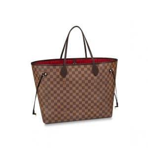 Louis Vuitton Damier Ebene Neverfull GM Bag