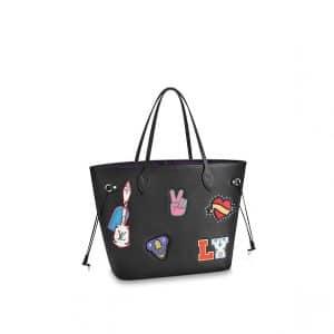 Louis Vuitton Epi Patches Neverfull MM Bag