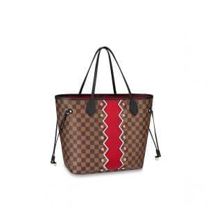 Louis Vuitton Karakoram Damier Ebene Neverfull MM Bag