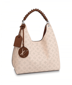 Louis Vuitton Mahina Carmel Hobo Bag 1