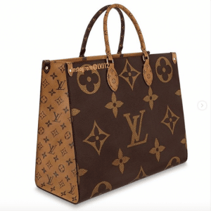 Louis Vuitton Monogram Canvas/Monogram Reverse Onthego Tote Bag 1
