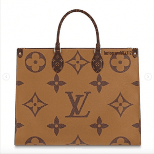 Louis Vuitton Monogram Canvas/Monogram Reverse Onthego Tote Bag 2