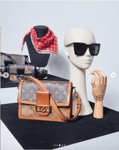 Louis Vuitton Monogram Canvas: Reverse Dauphine Bag
