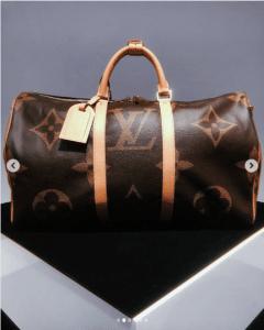 Borsa Louis Vuitton Monogram Geant Keepall
