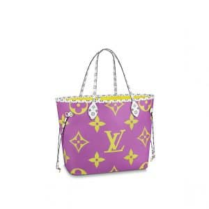 Louis Vuitton Monogram Geant Neverfull MM Bag