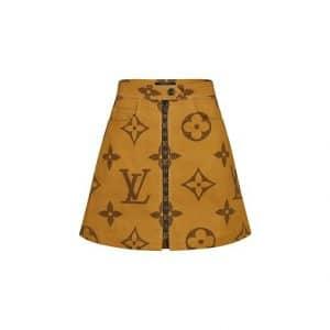 Louis Vuitton Monogram Giant Print Skirt