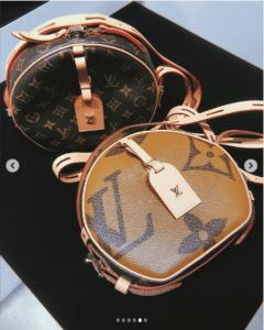 Borsa Louis Vuitton Monogram Reverse Geant Boite Chapeau Souple