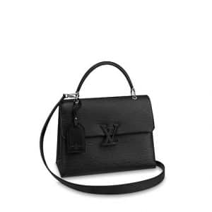 Louis Vuitton Noir Epi Grenelle MM Bag