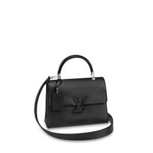 Louis Vuitton Noir Epi Grenelle PM Bag