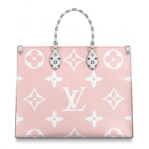 Louis Vuitton Red/Pink/Orange/Yellow Onthego Tote Bag 2