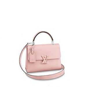 Louis Vuitton Rose Ballerine Epi Grenelle PM Bag