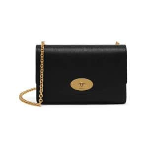 Mulberry Black Small Darley Bag