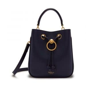 Mulberry Bright Navy Small Hampstead Bag