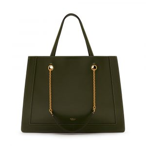 Mulberry Dark Olive Small Vale Tote Bag