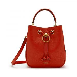 Mulberry Hibiscus Red Small Hampstead Bag