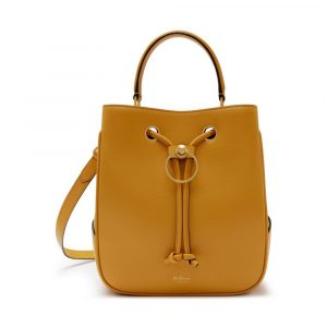Mulberry Maize Yellow Hampstead Bag
