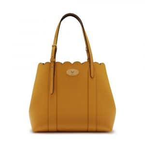Mulberry Maize Yellow Small Bayswater Tote Bag