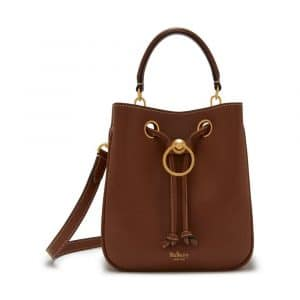 Mulberry Tan Silky Calf Small Hampstead Bag