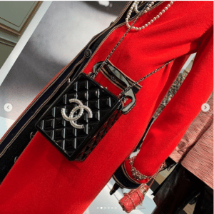 Chanel Black Traffic Light Minaudiere Bag