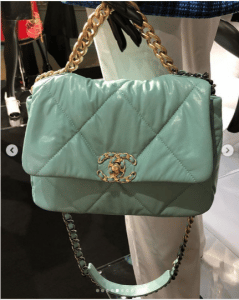 Chanel Light Green Flap Bag
