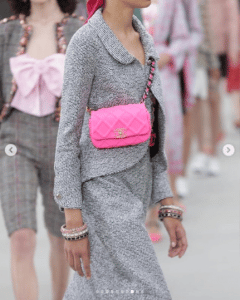 Chanel Pink Belt Bag