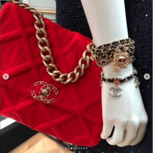 Chanel Red Quilted Flap Bag
