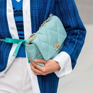 Chanel Turquoise Flap Bag
