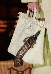 Dior Beige Raffia Lady Dior Bag 2