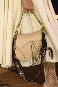 Dior Beige Saddle Bag