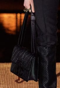 Dior Black Beaded 30 Montaigne Flap Bag
