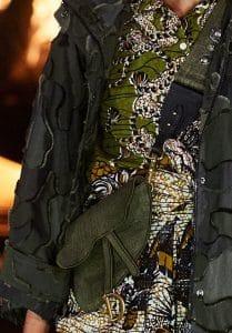 Dior Green Saddle Belt Bag