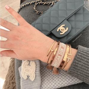 Dior J'adior Woven Bracelets 1