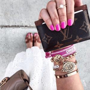 Dior J'adior Woven Bracelets 4