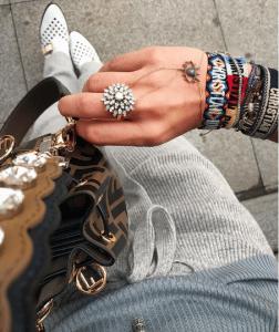 Dior J'adior Woven Bracelets 5