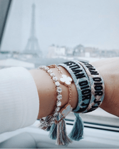 Dior J'adior Woven Bracelets 7