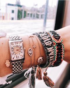 Dior J'adior Woven Bracelets 9