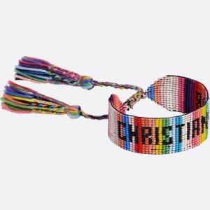 Dior Multicolor J'adior Beaded Bracelet